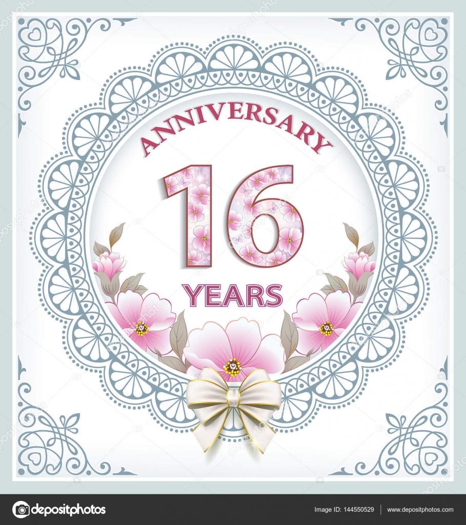 Frases Aniversario 70 Años Tarjeta De Aniversario De 16