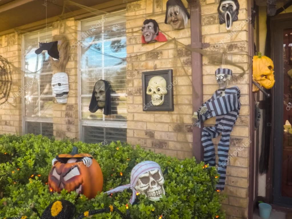 Halloween Decoratie Buiten.Buiten Huis Halloween Decoratie Stockfoto C Russiandoll