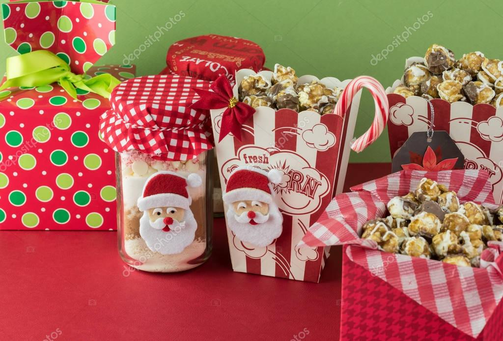 Christmas Food Gift Ideas.Christmas Food Gift Ideas Stock Photo C Russiandoll