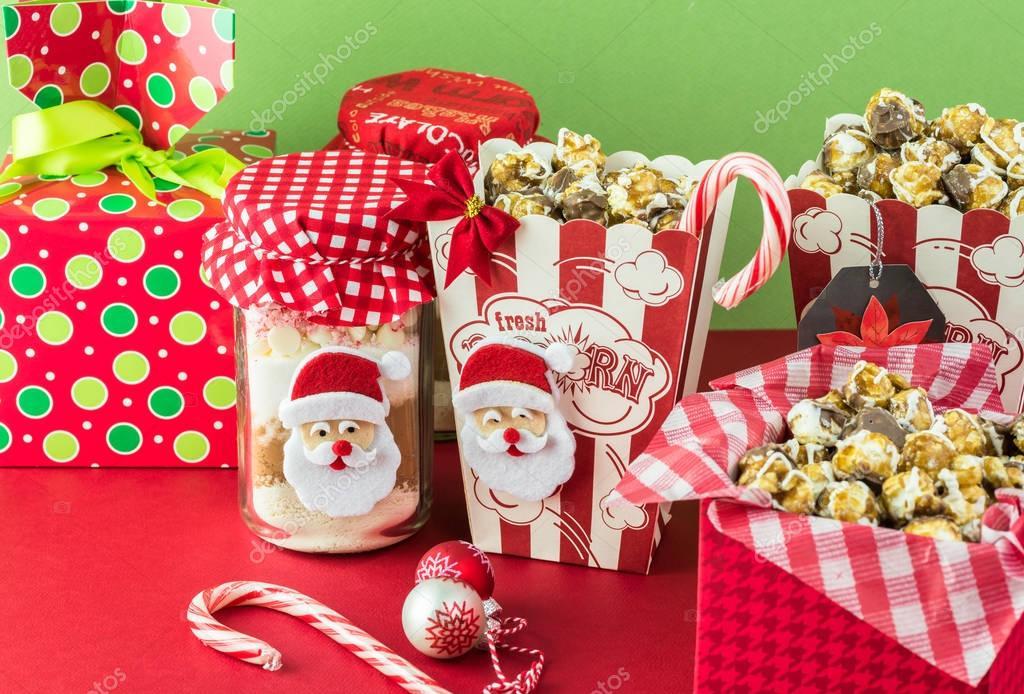 Idee Regalo Natale Cibo.Idee Regalo Di Natale Cibo Foto Stock C Russiandoll