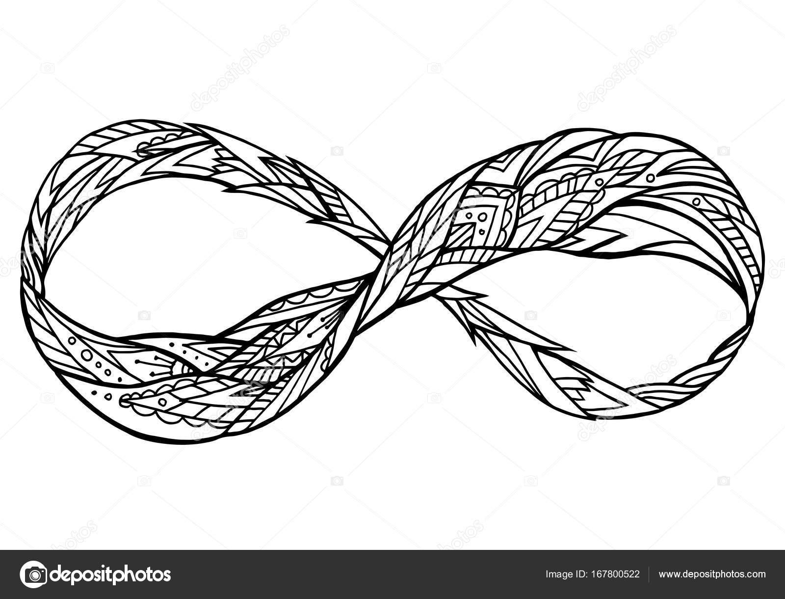 Dibujos Signo Infinito Para Imprimir Signo De La Eternidad Con El