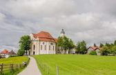 Fotografie Eine Wallfahrt Kirche von Wies, Bayern. Deutschland