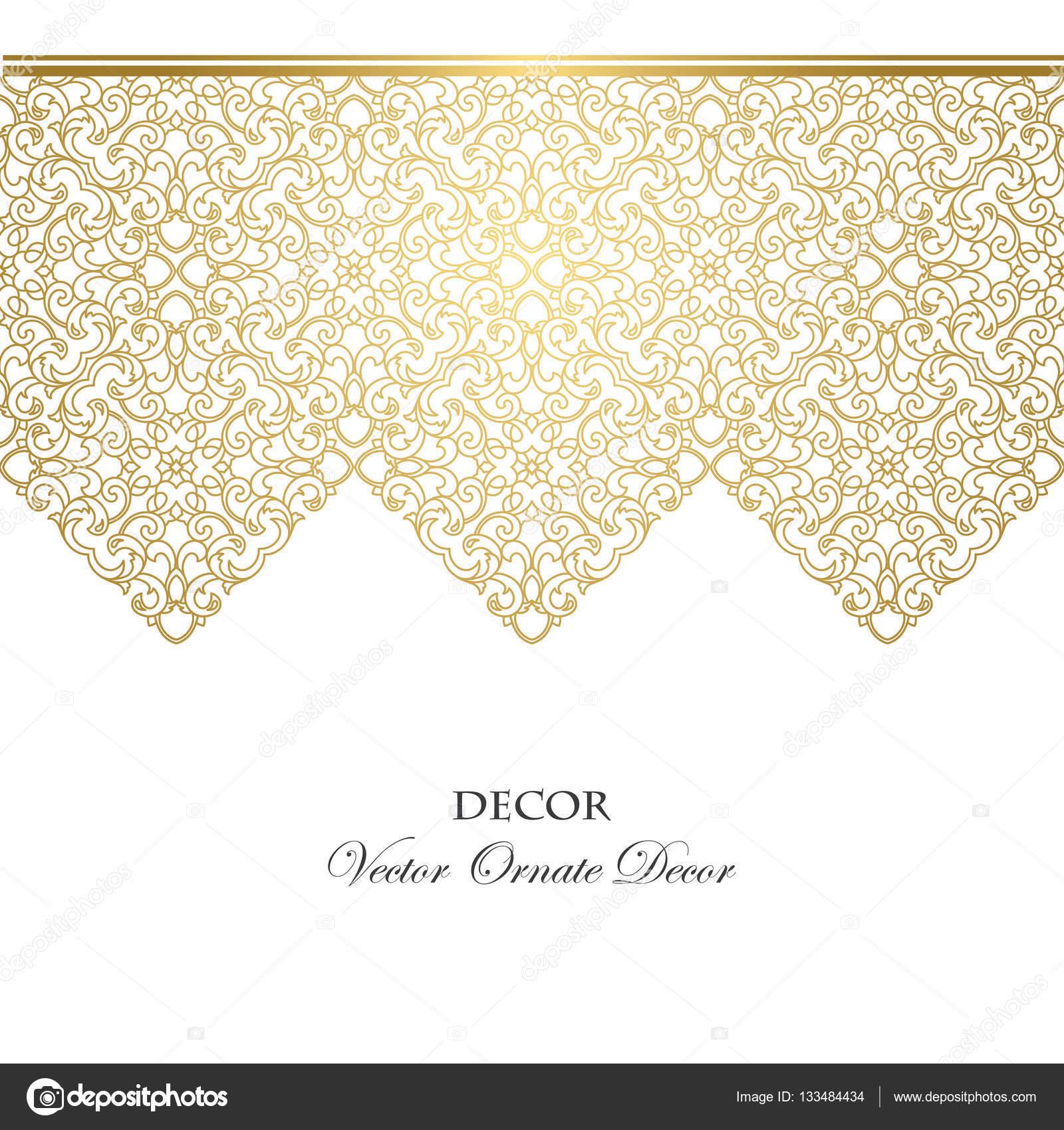 vektor dekorrahmen — Stockvektor © sacredolga #133484434