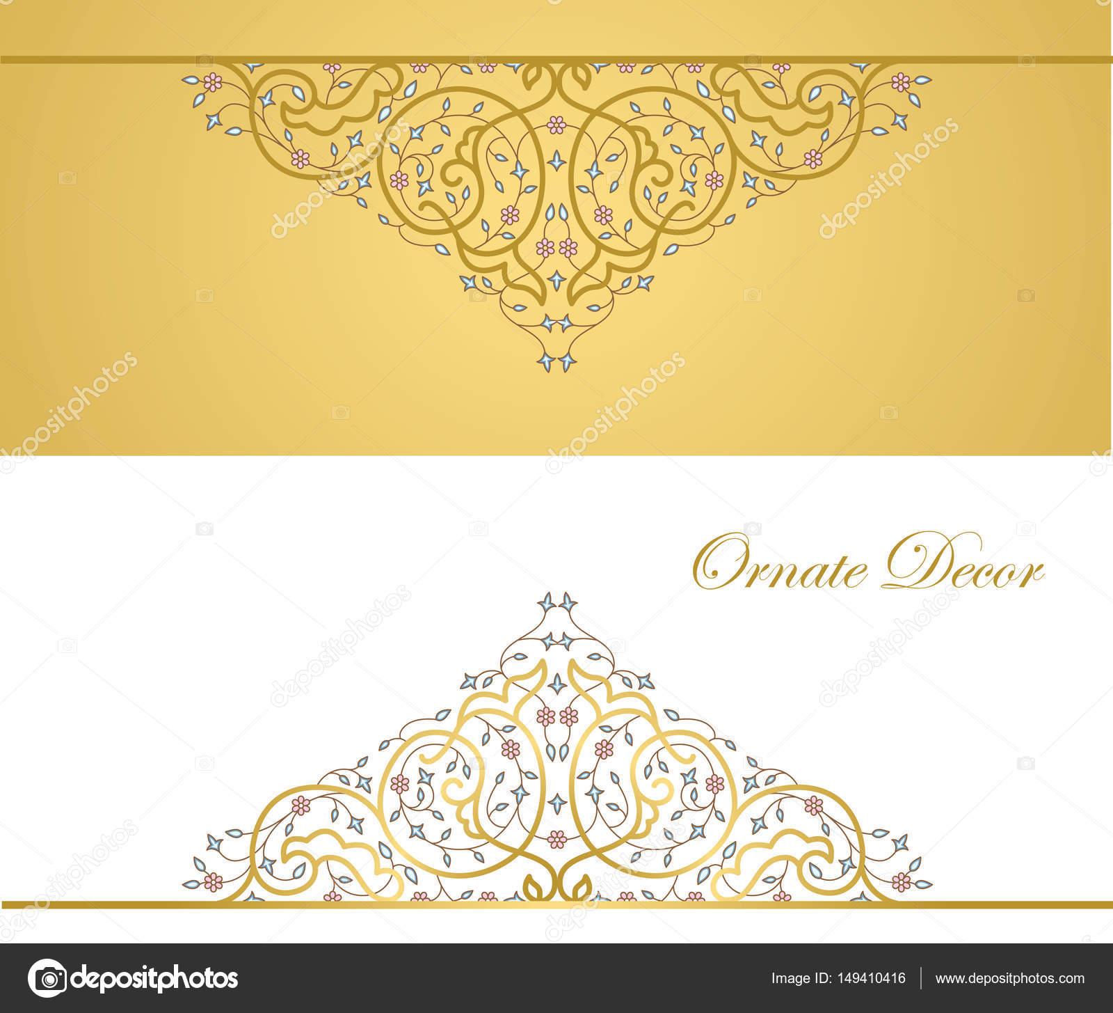marco decorativo ornamental Vector — Archivo Imágenes Vectoriales ...
