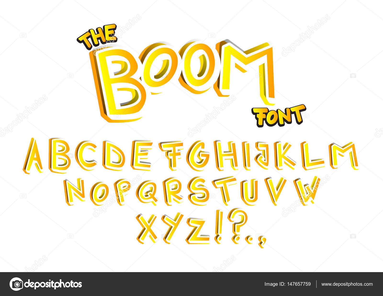 The Boom Font