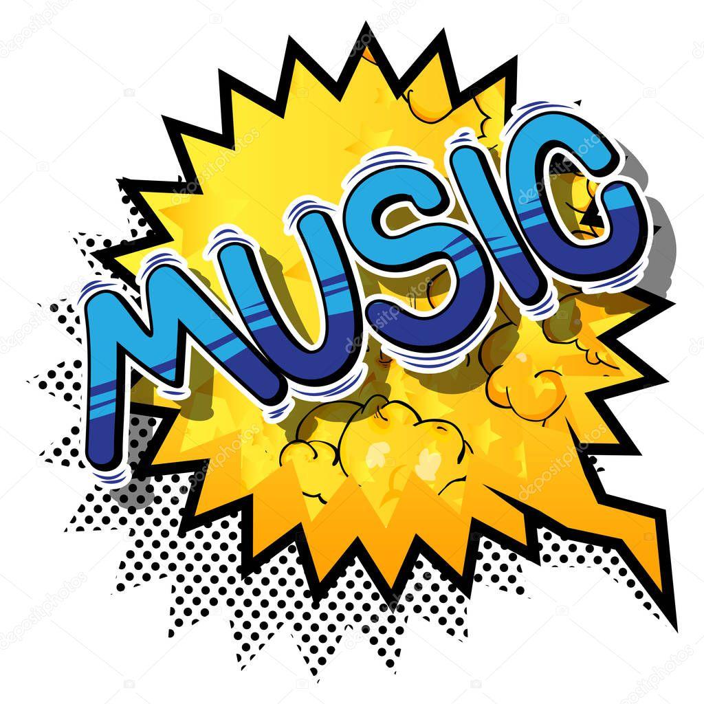 Musik Comic
