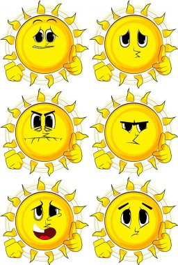 Cartoon sun with pointing hand at the viewer.