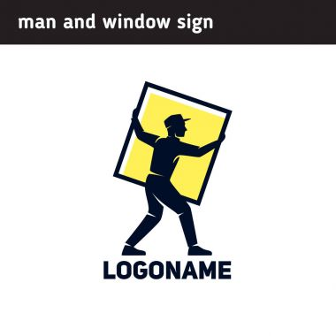 Logo production or installation of windows