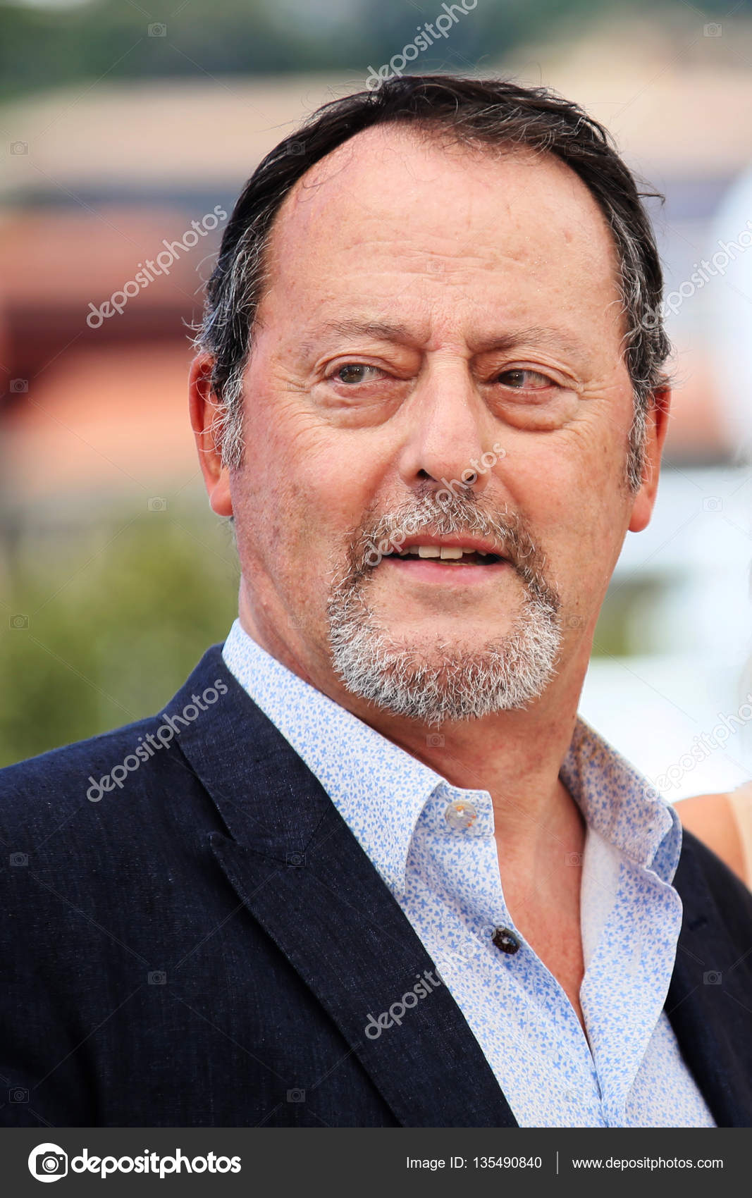 Actor Jean Reno at Last Face Photocall at annual 69th Cannes Film Festival  at Palais des Festivals in Cannes, France, on May 20, 2016 — Photo by ...