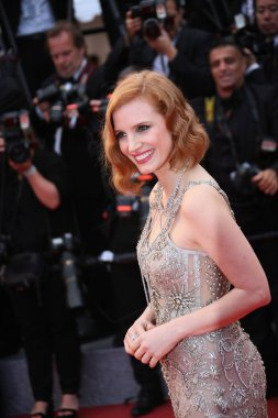 Jessica Chastain attends the 'Money Monster'