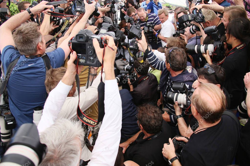 Photographers attends the  photocall
