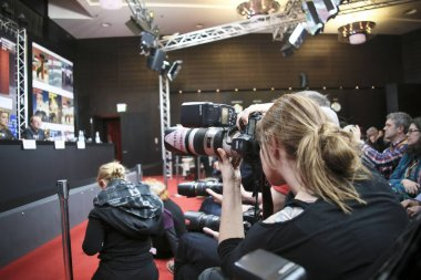 Photographer attend the 'The Midwife'