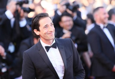 Adrien Brody at Cannes Film Festival