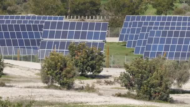 Solar-Panels. Power engineering-Konzept
