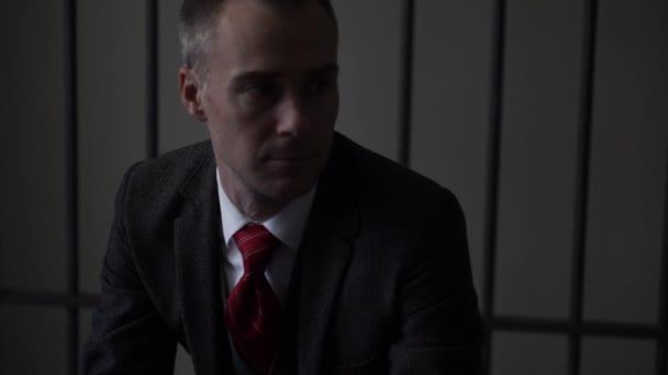 white collar man criminal in prison