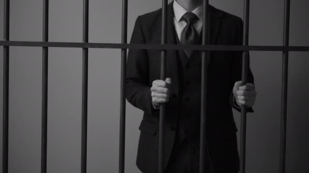 Wirtschaftskrimineller im Gefängnis