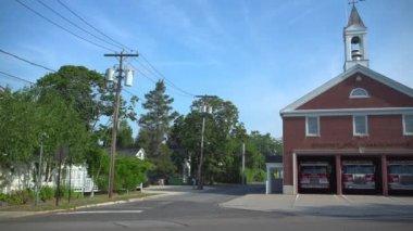Požární stanice v malém městě