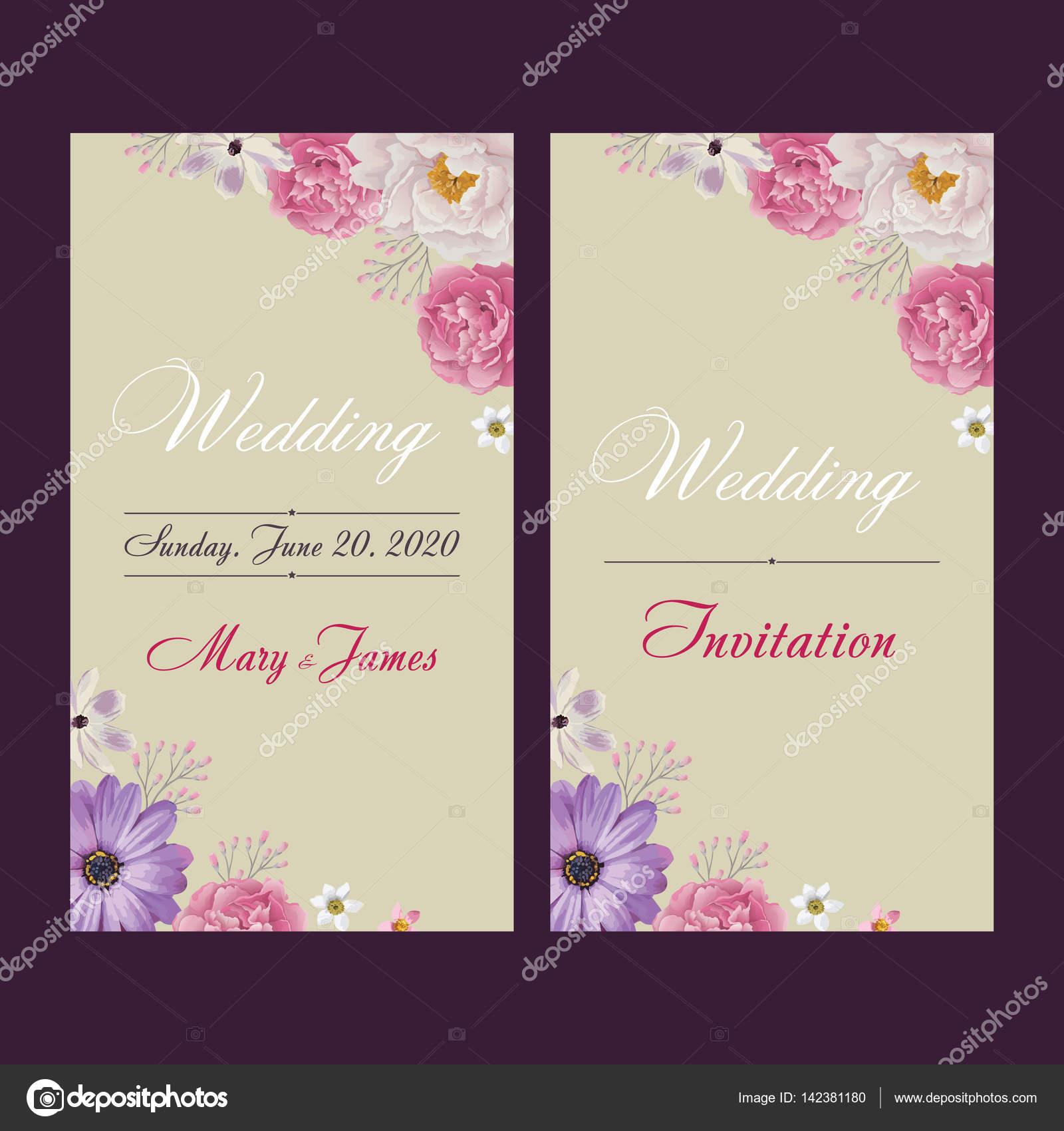 Wedding invitation thank you card save the date cards eps 10 wedding invitation thank you card save the date cards eps 10 stock stopboris Choice Image