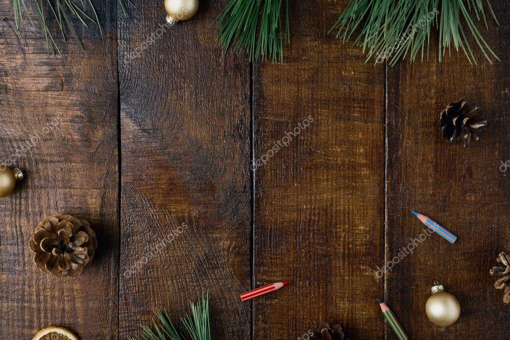 Fondo de navidad con adornos foto de stock for Adornos navidenos 2017 trackid sp 006