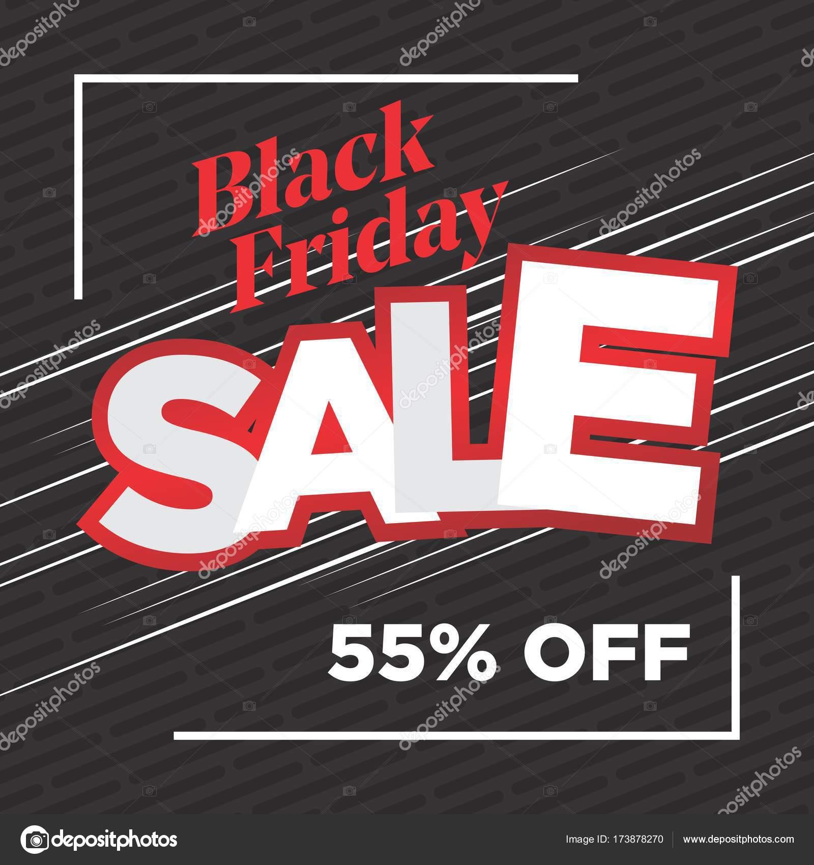 Schwarzer Freitag Rahmen Poster mit Linien — Stockvektor © dxinerz ...