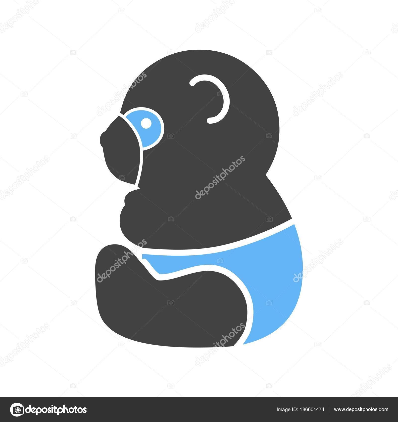 Panda, snow, bamboo — Stock Vector © Iconbunny #186601474