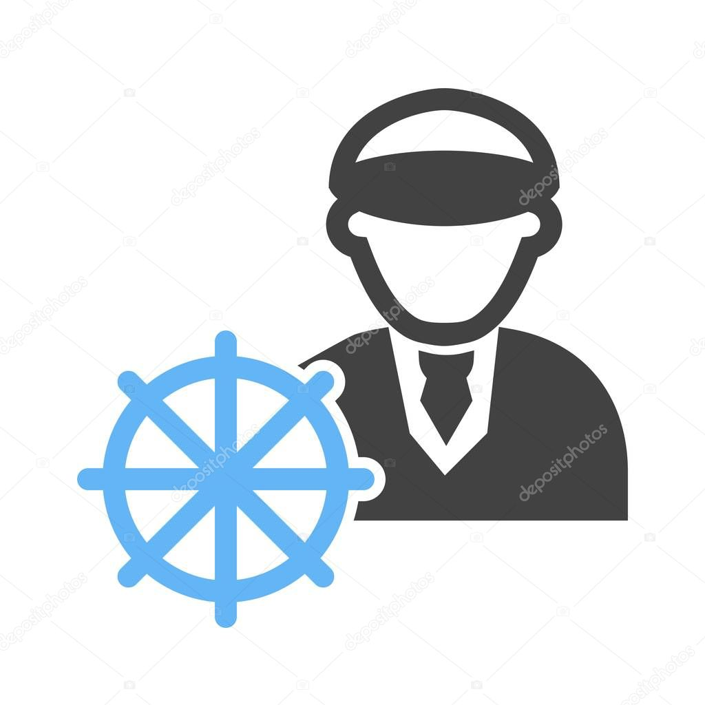 Ship Captain Icon