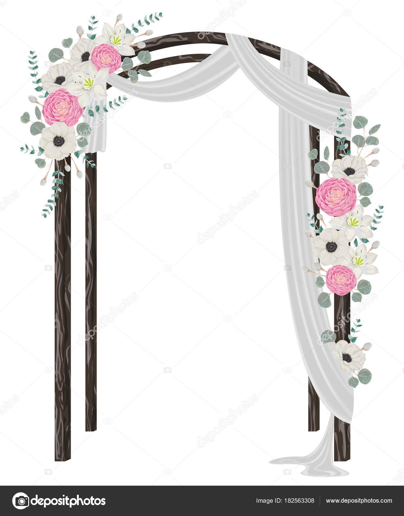 Arco De Flores Boda Vintage Unpastiche Org