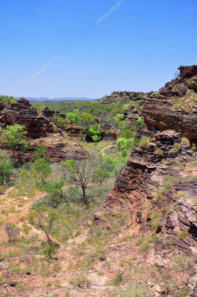 Mirima National Park (Hidden Valley), similar to bungle bungle, near Kununurra, Western Australia, Australia