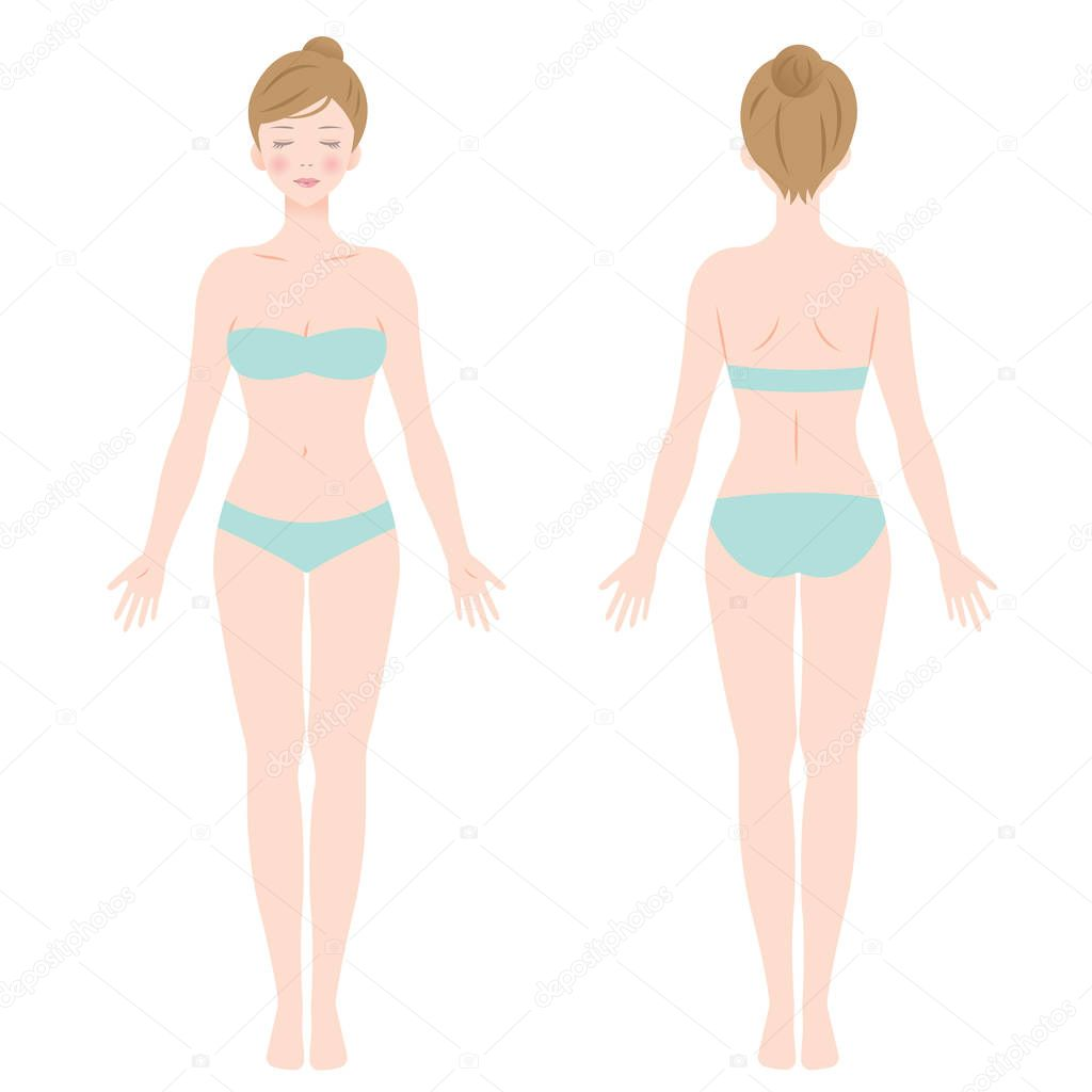 Niedlich Mode Illustration Körperschablonen Fotos - Beispiel ...