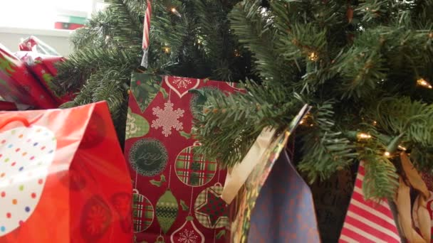 Christmas Presents Under Tree.Christmas Presents Under The Tree