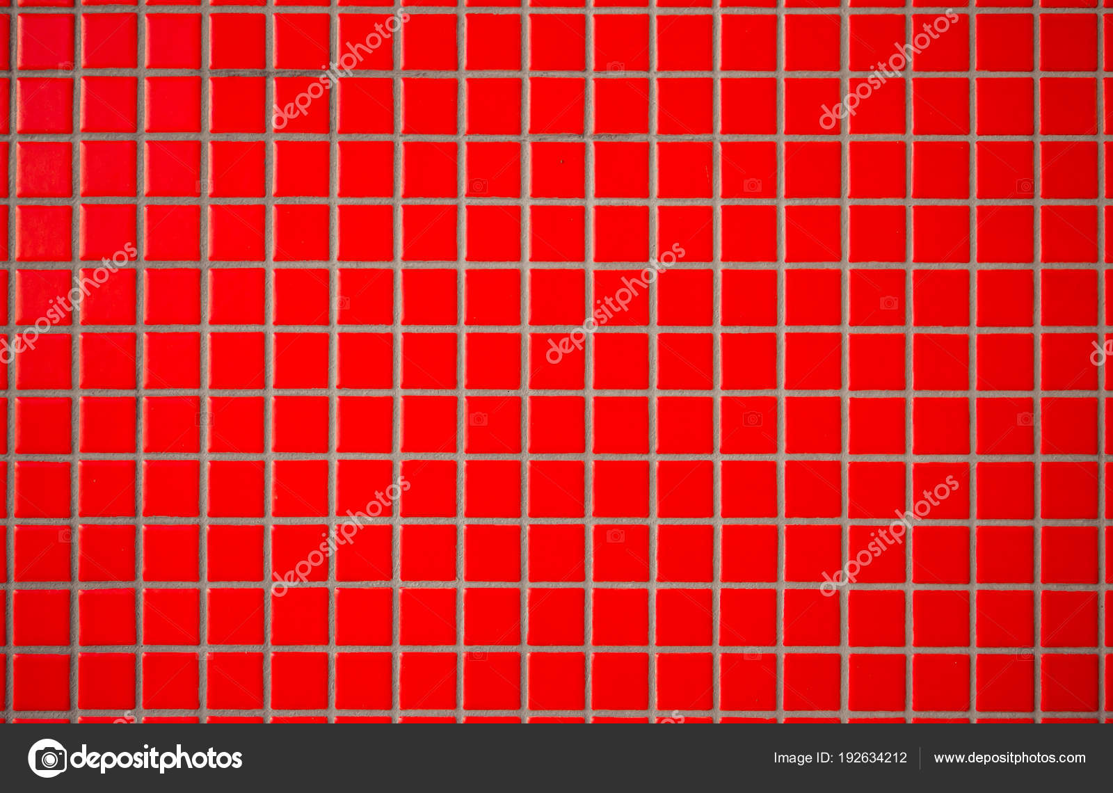 Red Ceramic Tiles With Seams Looks Like A Mosaic Tiles Abstrac Stock Photo C Maximnorby 192634212