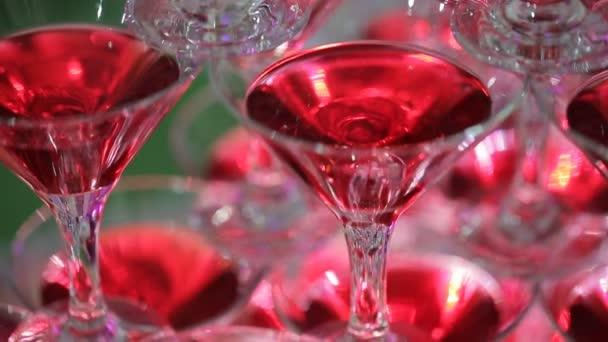 Folie Champagner für Braut und Bräutigam im Innenbereich