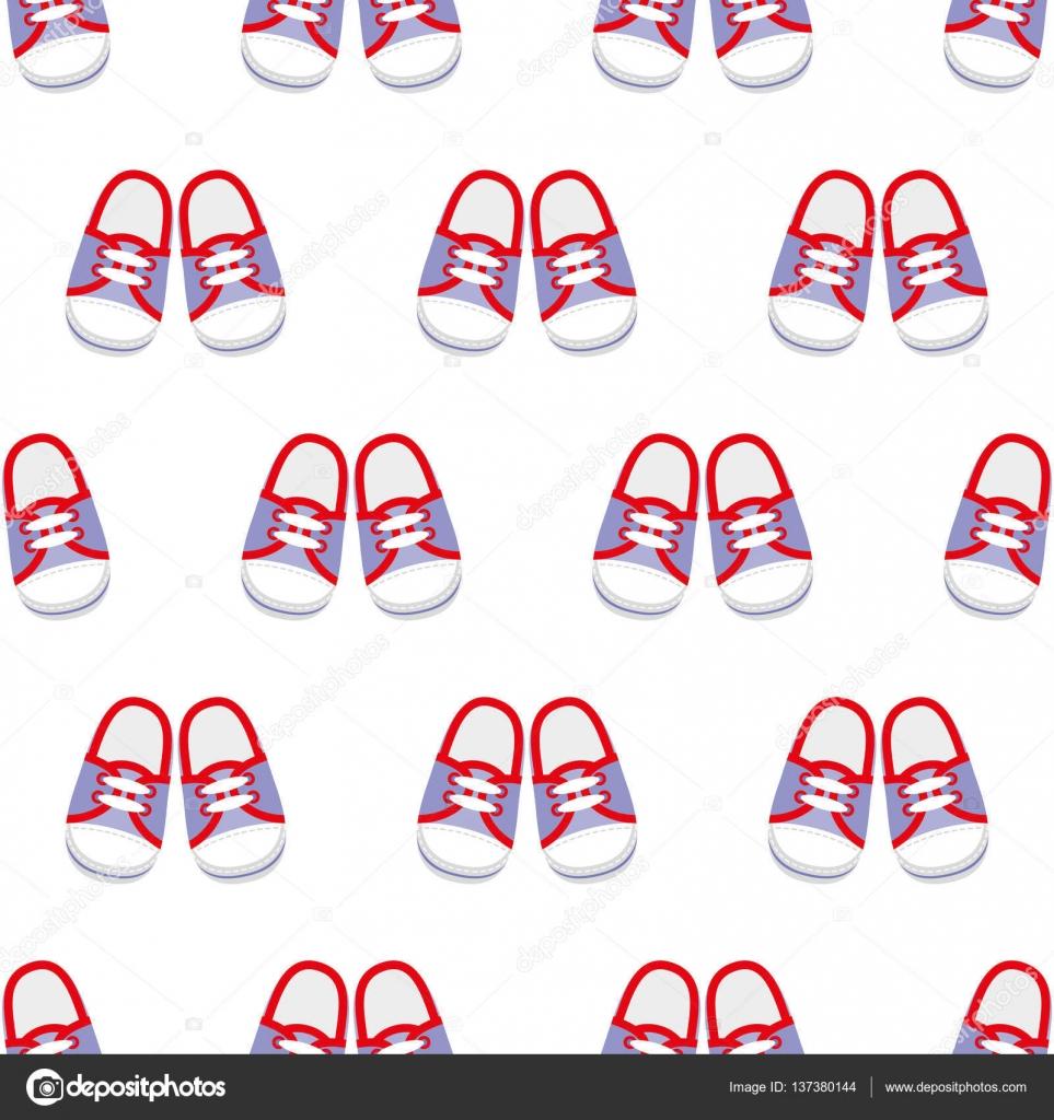 Patrón © — Costuras De Stock Vector 137380144 Sin Elen88 Zapatillas ATtw0WqTr