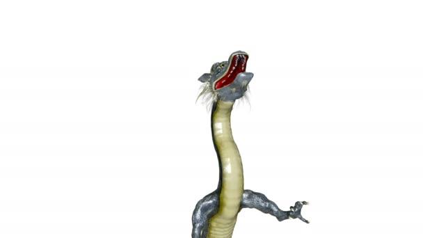3D-s cg visszaadás-ból egy doragon