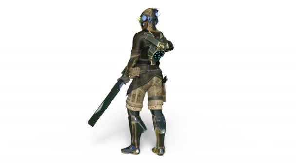 3D-s cg visszaadás-ból egy szuper hős
