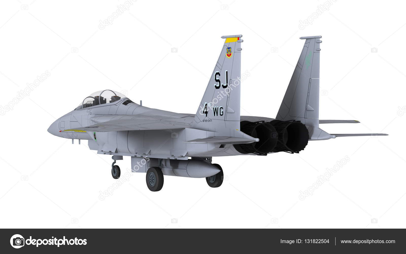 3D CG rendering of a fighter plane — Stock Photo © TsuneoMP