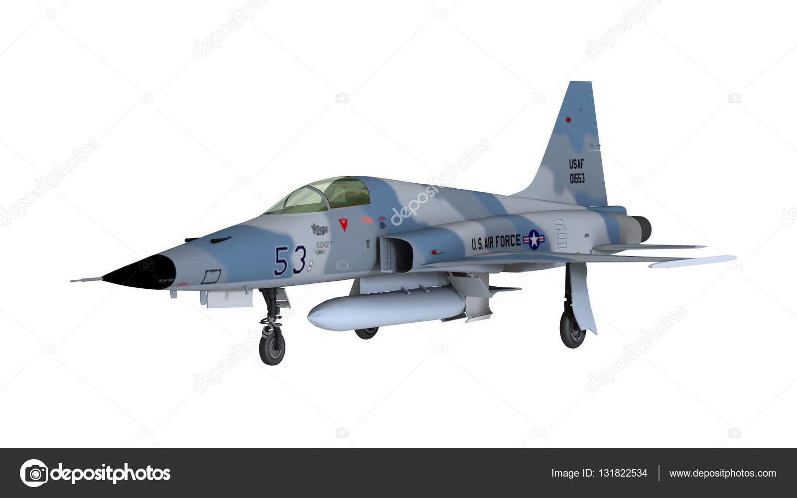 3D CG rendering of a fighter plane — Stock Photo © TsuneoMP #131822534