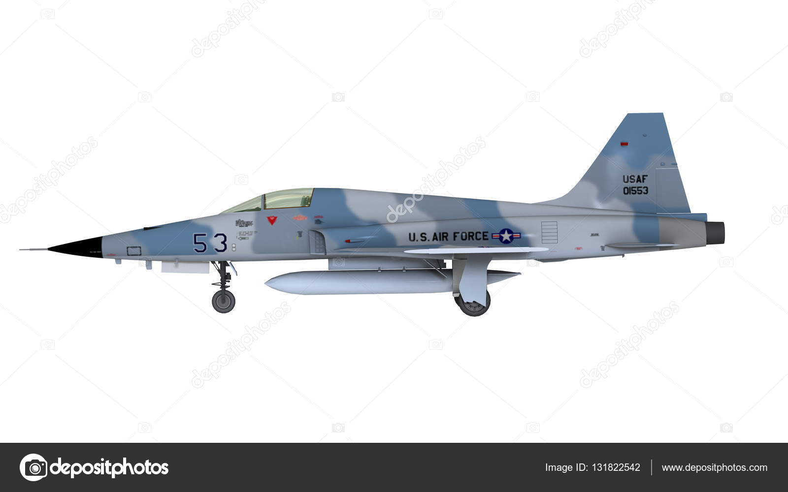 3D CG rendering of a fighter plane — Stock Photo © TsuneoMP #131822542