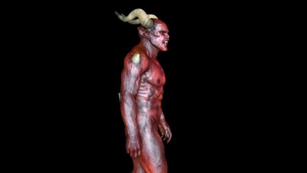 3D vykreslování cg chodící monstrum