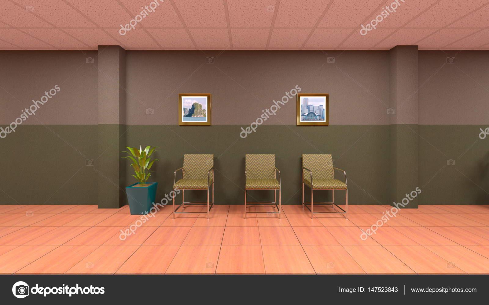 Decoratie Interieur Corridor : D cg rendering van een corridor u stockfoto tsuneomp