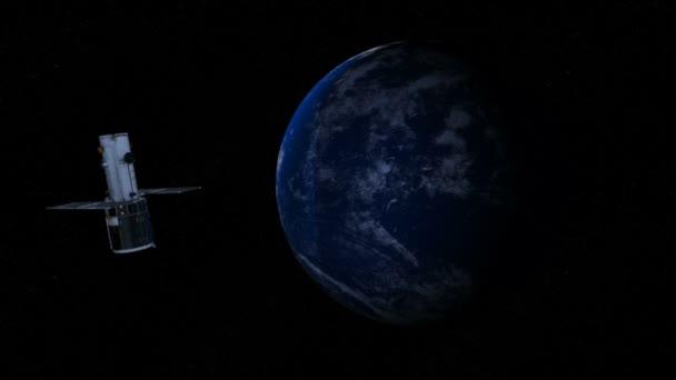 3D vykreslování cg země a umělé družice