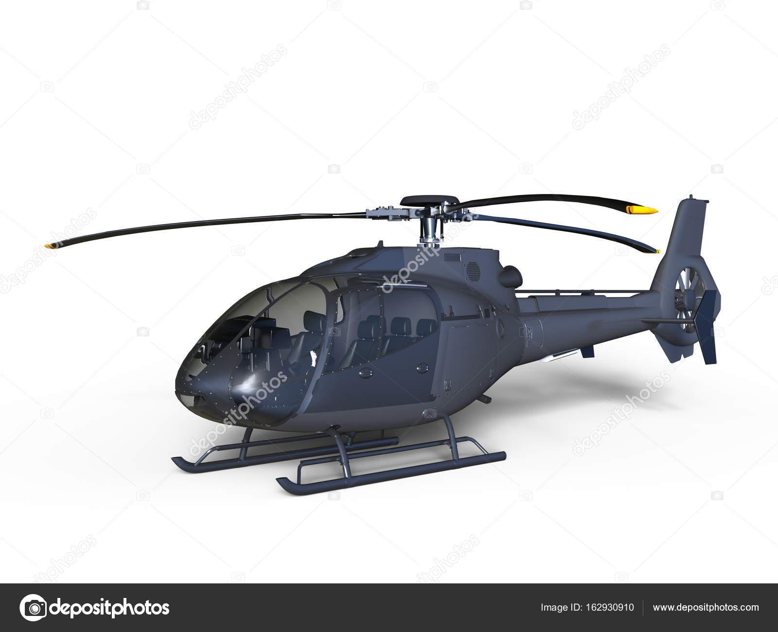 Elicottero 3d Model : Visualizzazione d lowpoly modello di elicottero hughes oh