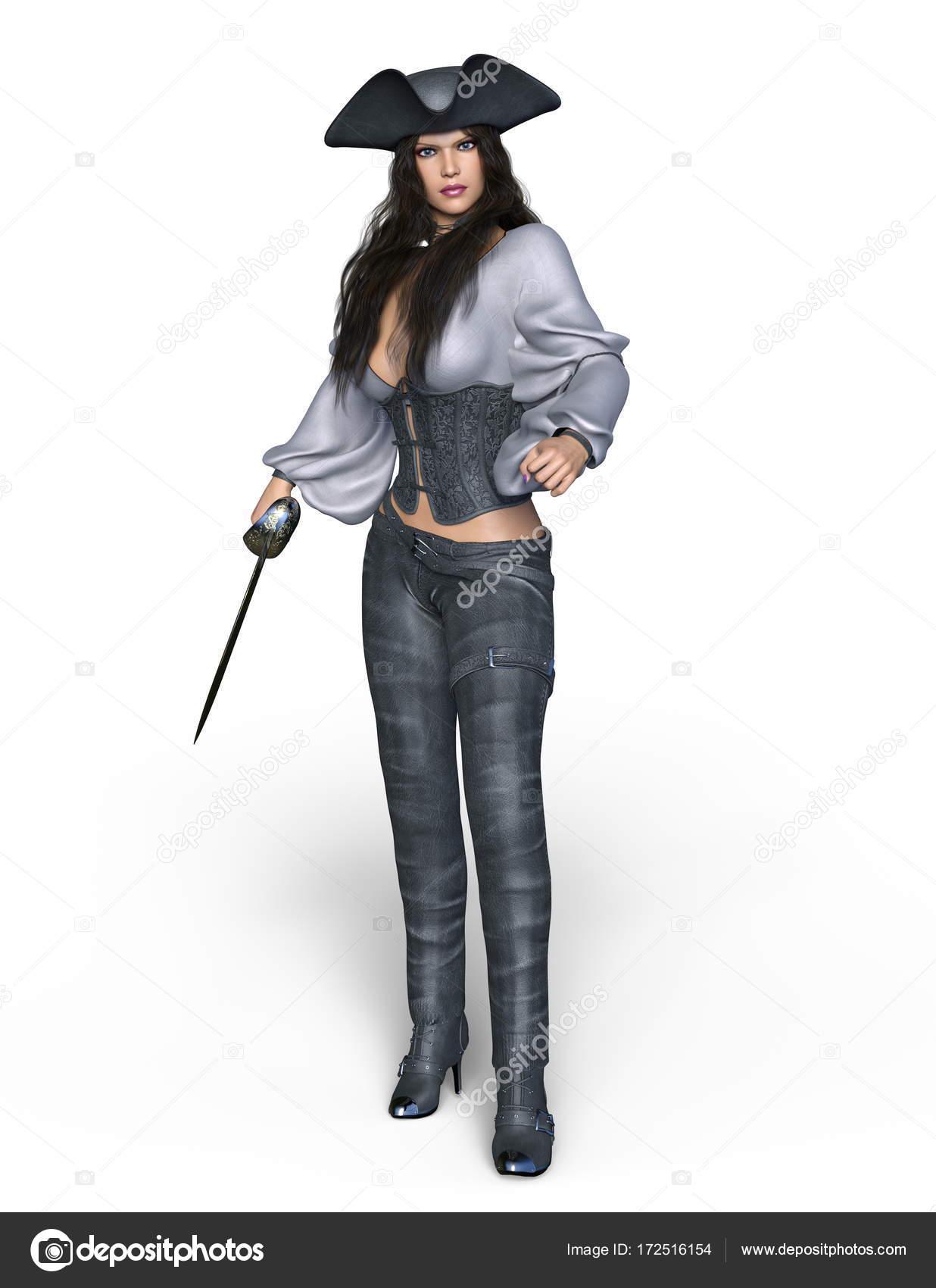 Fotos de mujeres vestidas de piratas