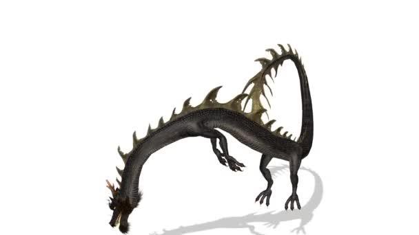 vykreslování 3D cg draka.
