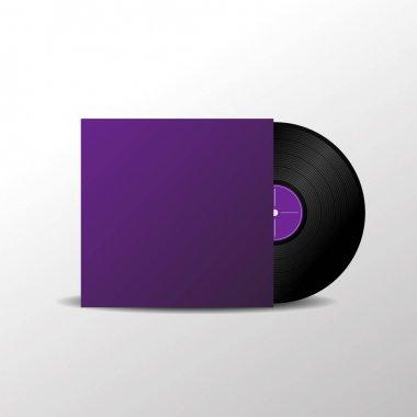 Solated vinyl music plate