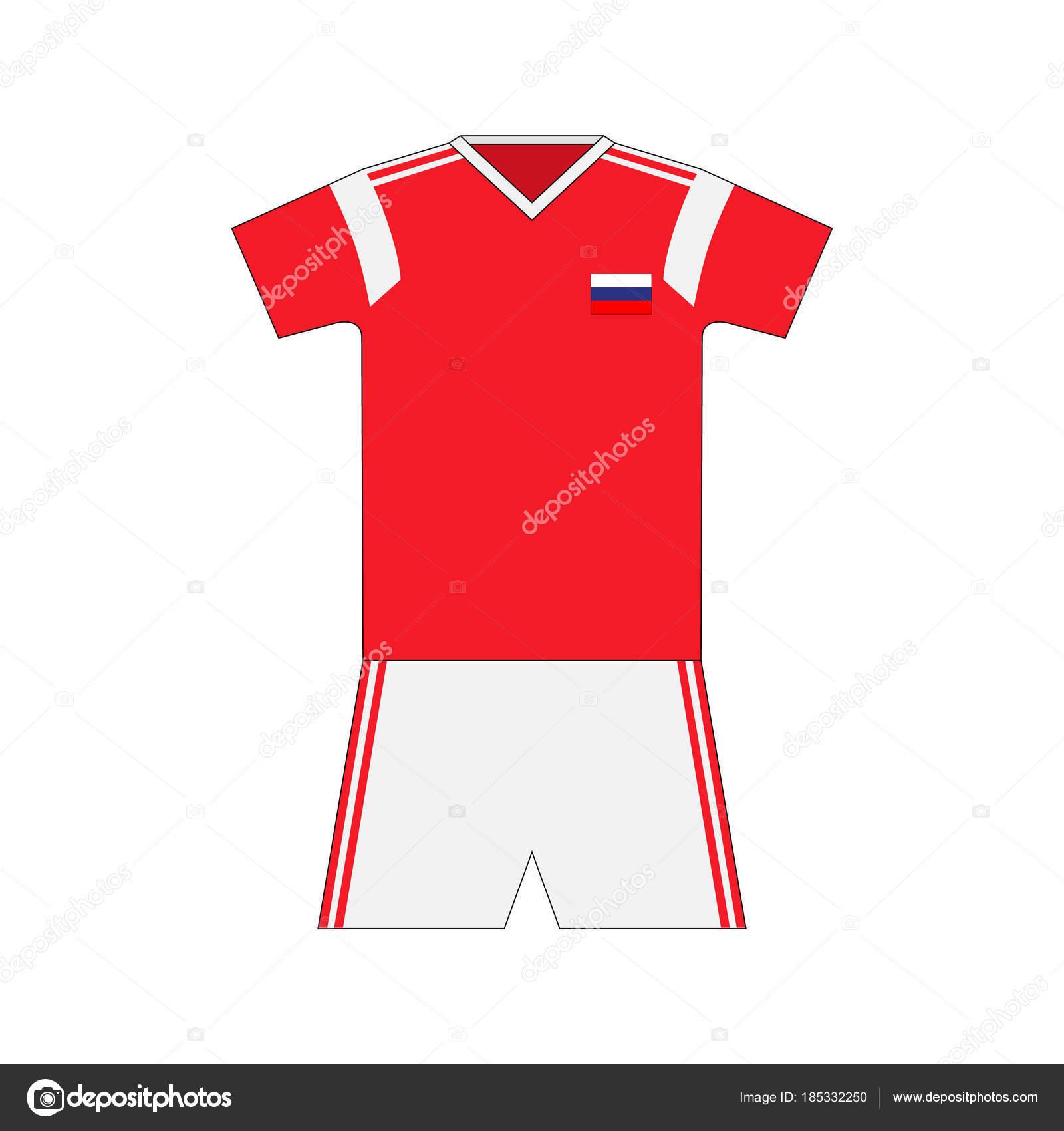 b8dc991da2d Football Kit Russia 2018 — Stock Vector © chel11  185332250