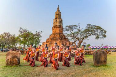 Thai northeastern traditional dance