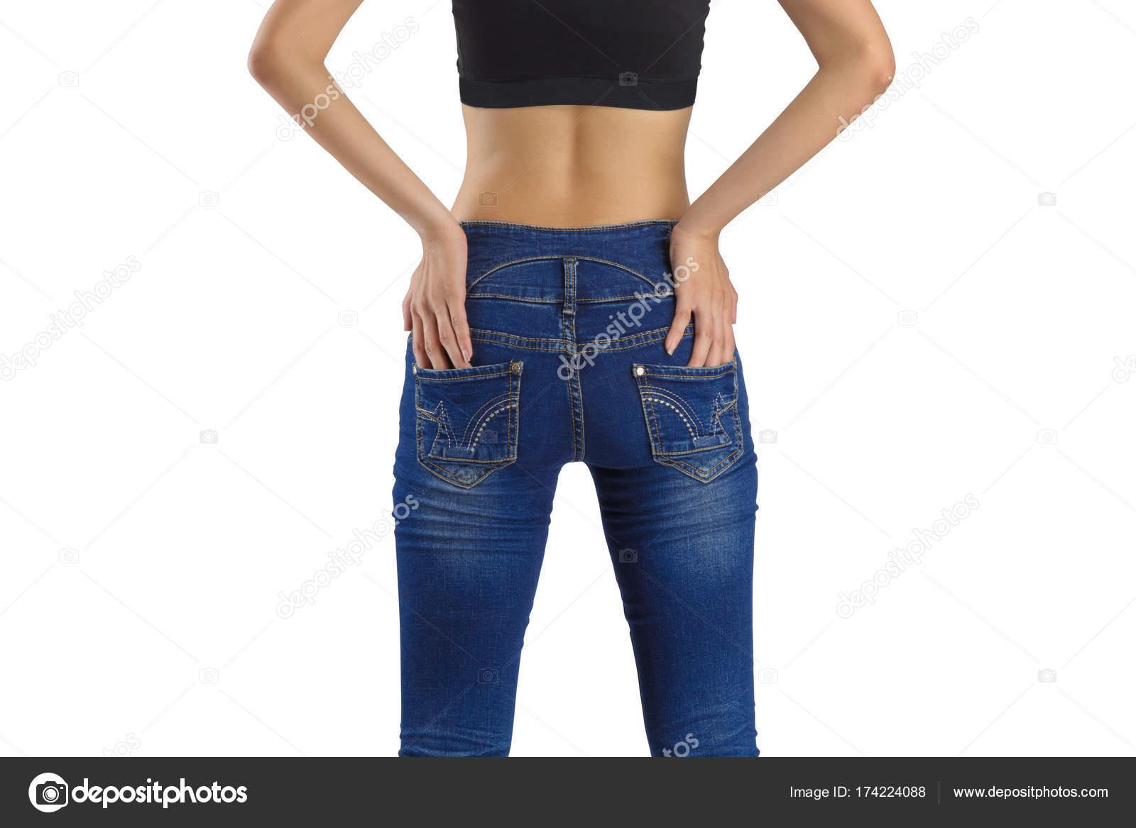 Джинсы сексуальная женщина