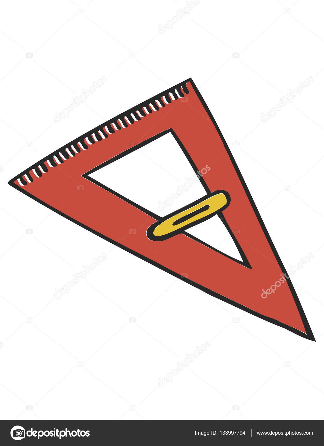 三角定規アイコン ストックベクター Everydaytemplate 133997794