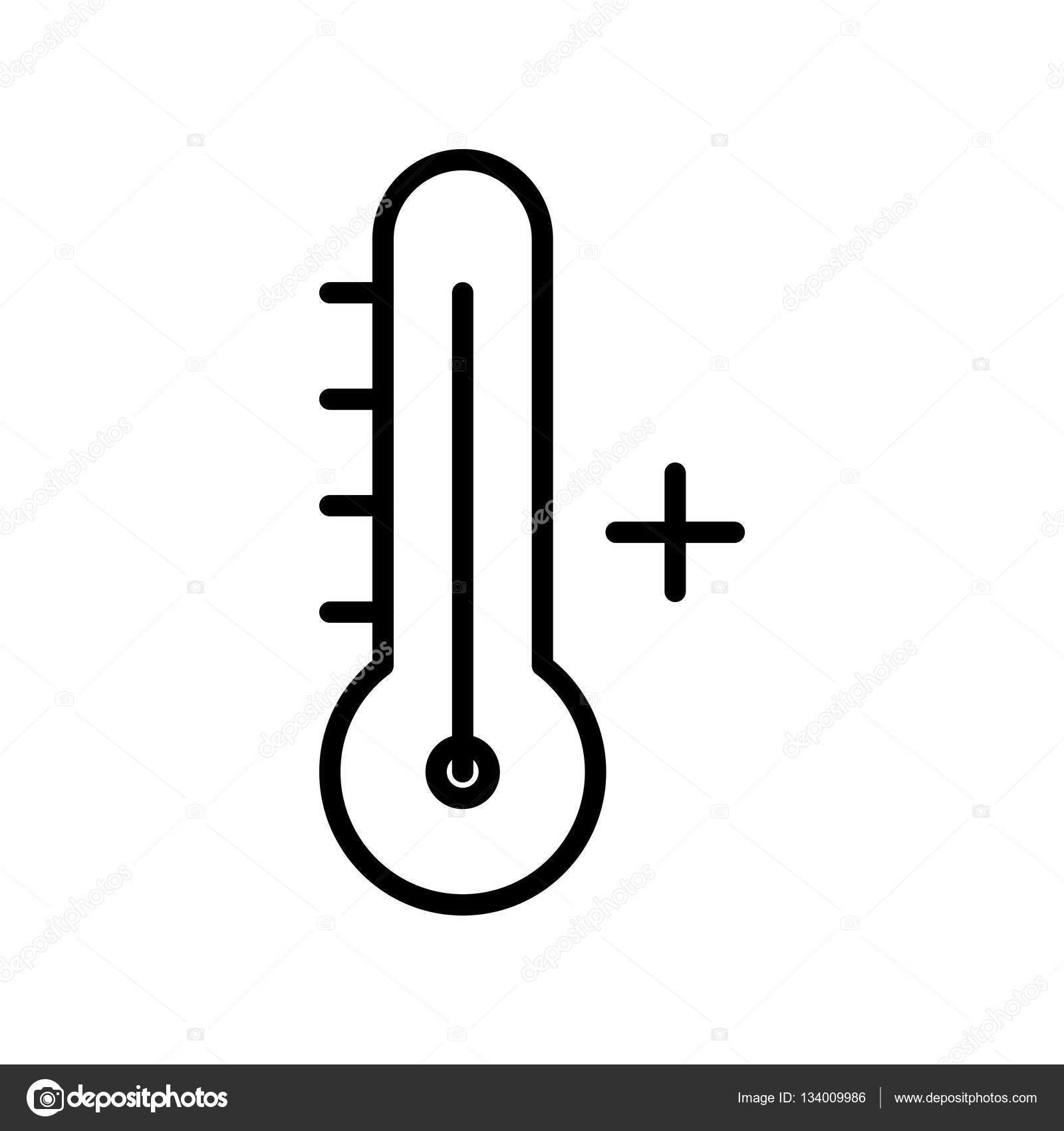 Hot Weather Icon Stock Vector Everydaytemplate 134009986